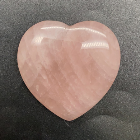 """Сувенир, Розовый Кварц, """"Сердце"""", 50x50 мм, толщина 10 мм, цена за шт"""