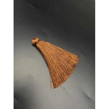 Кисточка, коричневого цвета, 66 мм, цена за штуку