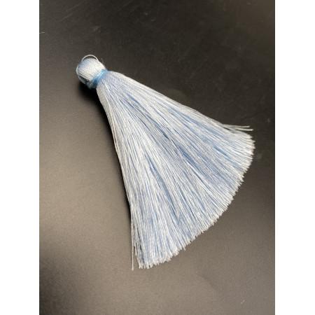 Кисточка, небесно-голубого цвета, 66 мм, цена за штуку
