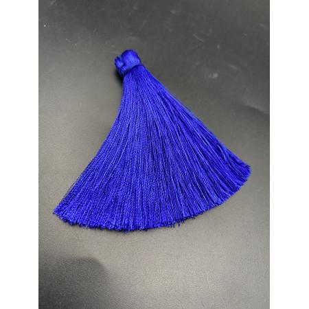 Кисточка, синего цвета, 66 мм, цена за штуку