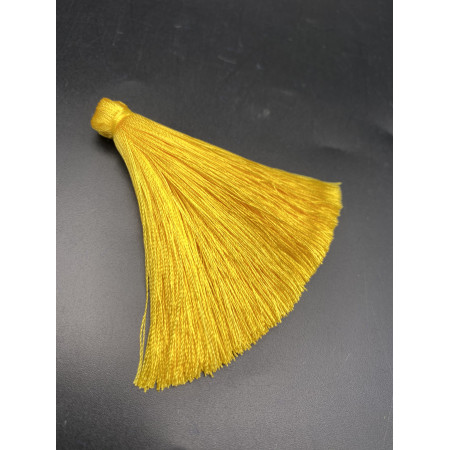 Кисточка, жёлтого цвета, 66 мм, цена за штуку