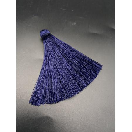 Кисточка, тёмно-синего цвета, 66 мм, цена за штуку