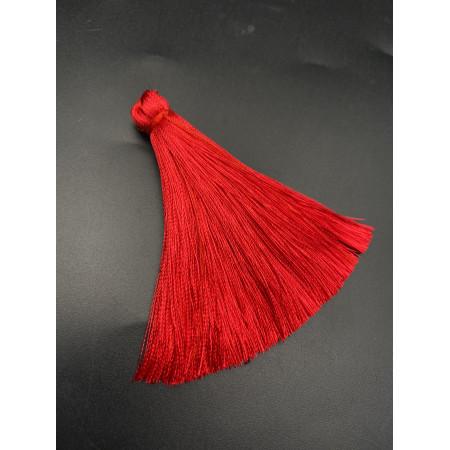 Кисточка, ярко-красного цвета, 66 мм, цена за штуку