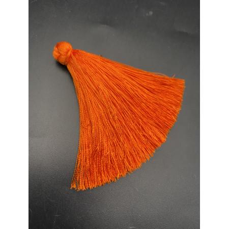 Кисточка, апельсинового цвета, 66 мм, цена за штуку
