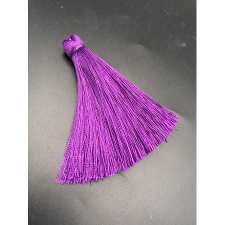 Кисточка, тёмно-фиолетового цвета, 66 мм, цена за штуку