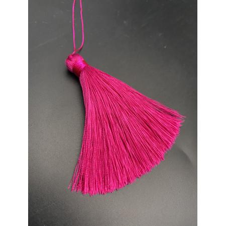Кисточка, малинового цвета, 66 мм, цена за штуку