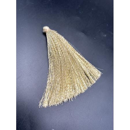 Кисточка, блестящая, золотистого цвета, 80 мм, цена за штуку
