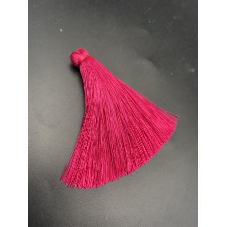 Кисточка, цвета фуксии, 66 мм, цена за штуку