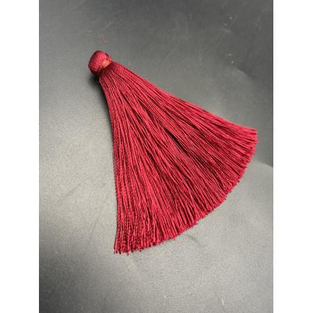 Кисточка, вишнёвого цвета, 66 мм, цена за штуку