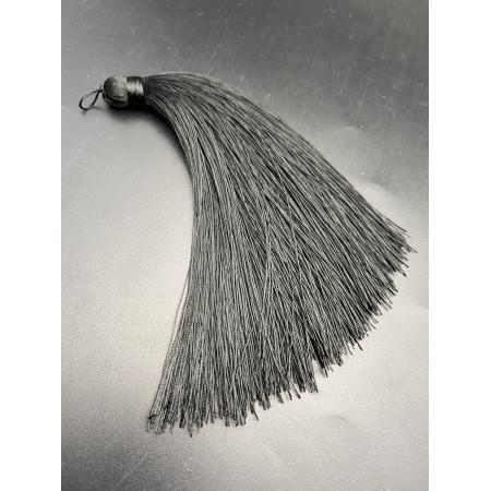 Кисточка, большая, чёрного цвета, 120 мм, цена за штуку