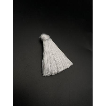 Кисточка, маленькая, белоснежного цвета, 40 мм, цена за штуку