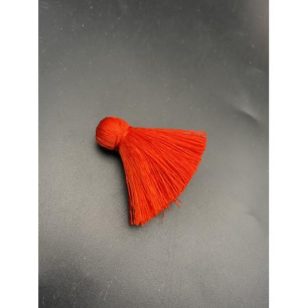 Кисточка, маленькая, красного цвета, 40 мм, цена за штуку
