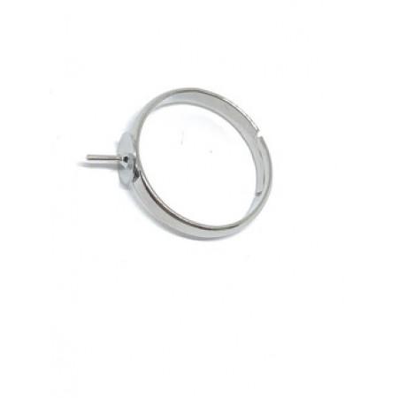 Основа для колец, №2, размер регулируется, 1 шт