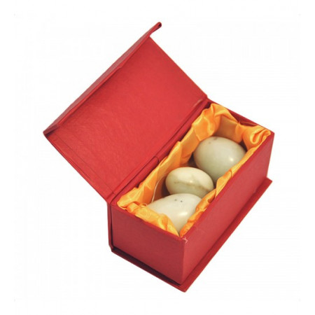 """Нефритовые яйца (3 шт. в комплекте) """"Стандарт"""""""