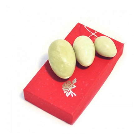 """Нефритовые яйца (3 шт. в комплекте) """"Премиум"""""""