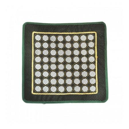 Нефритовый коврик квадратный с сеткой (40 х 40 см)