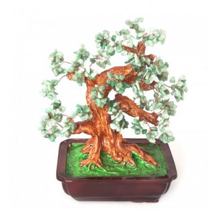 Дерево счастья №10 Нефрит. 33х28 см