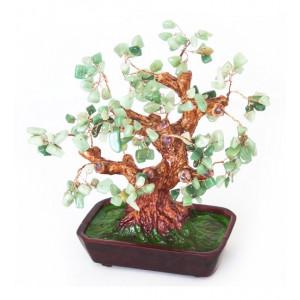 Дерево счастья №12 Нефрит. 25х19 см