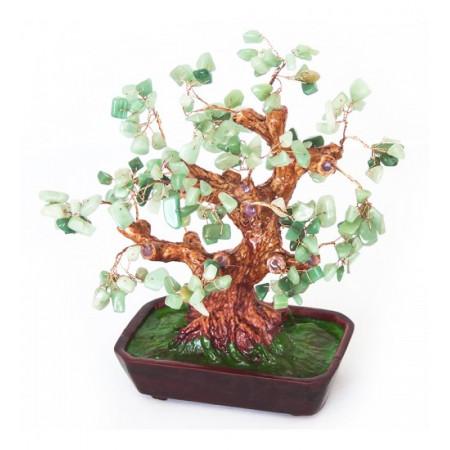 Дерево счастья №7 Нефрит. 25х19 см