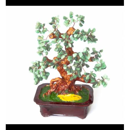 Дерево счастья №9 Нефрит. 30х24 см