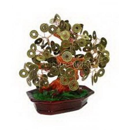 Дерево счастья №2 Монеты, 35х26 см
