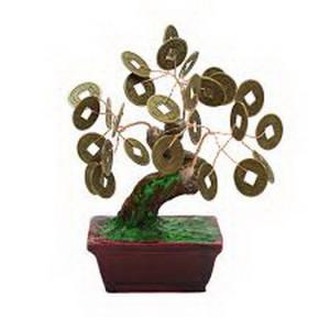 Дерево счастья №1 Монеты, 13х11 см