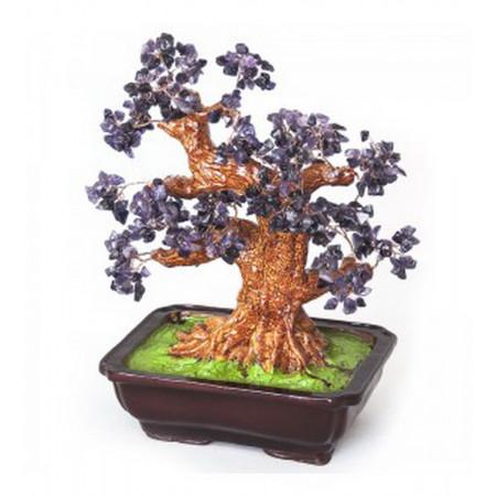 Дерево счастья №20 Аметист, 36х33 см