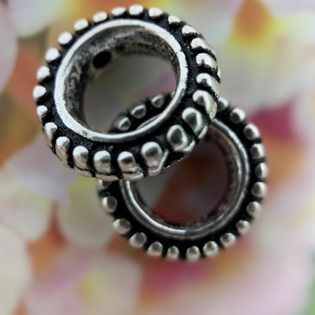 Разделитель из тайского серебра 925 пробы, 12,8х3,3 мм