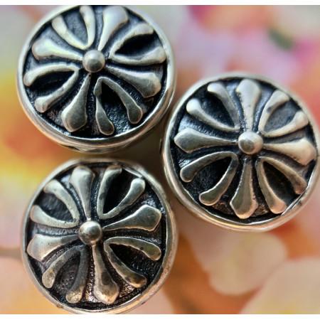 """Разделитель """"крест"""" из тайского серебра 925 пробы, 11х4 мм"""