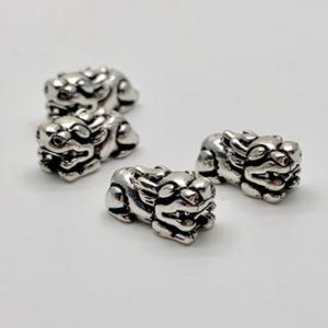 Пияо №3, серебро тайское, размер 13х5 мм, 1 шт