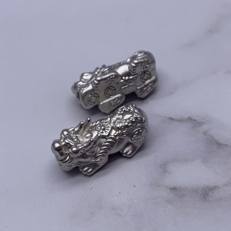 Пияо №19, Серебро, 26х11 мм, цена за 1 шт