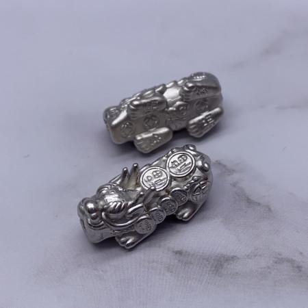 Пияо №23, Серебро, 27х10 мм, цена за 1 шт
