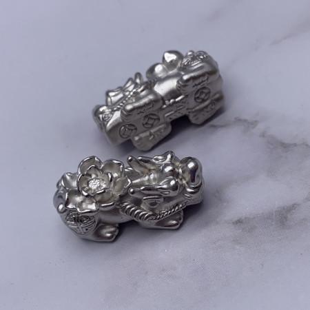 Пияо №35, Серебро, 26х12 мм, цена за 1 шт