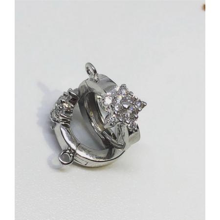 Швензы #03 серебро 925, 16 мм (без учета штыря)