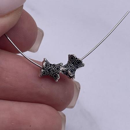 """Разделитель, """"Шапочка"""", из тайского серебра, размер 5,5х6 мм"""