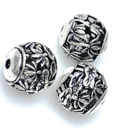 Бусина из тайского серебра, 11 мм