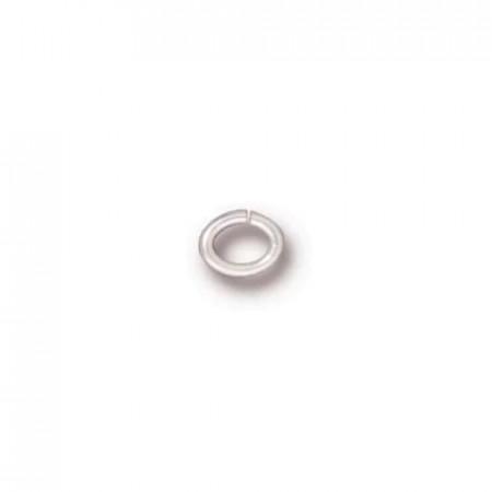 Соединительное колечко, TierraCast, под серебро, 3х2 мм, цена за 10 шт