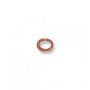 Соединительное колечко, TierraCast, медь, 4х3 мм, цена за 10 штук