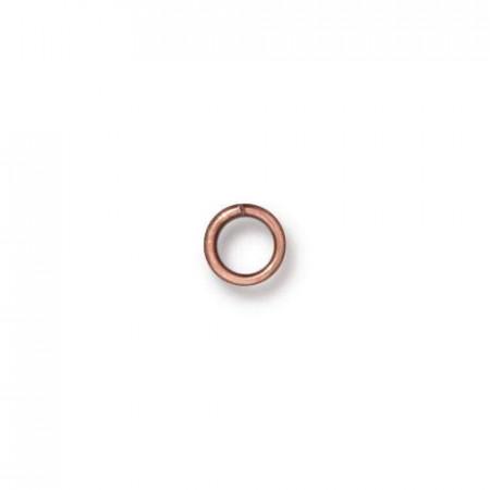 Соединительное колечко, TierraCast, медь, 4 мм, цена за 10 штук